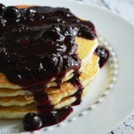 Blueberry Sauce Pancakes Kraft Foods