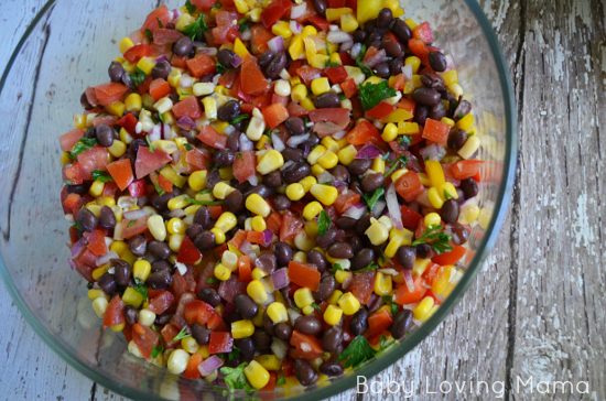 Fiesta Layer Dip Layer Two for Be Natural Virtual Cookoff