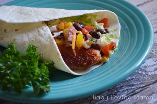 Fish Tacos and Corn Black Bean Salsa Beano