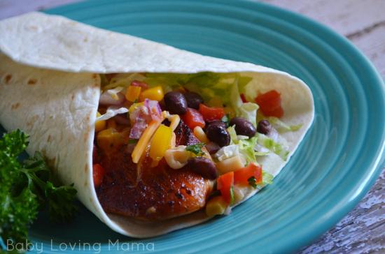 Fish Tacos with Corn Black Bean Salsa Beano