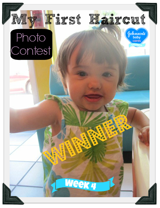 Johnsons Baby My First Haircut Photo Contest Adalynn Week 4 Winner