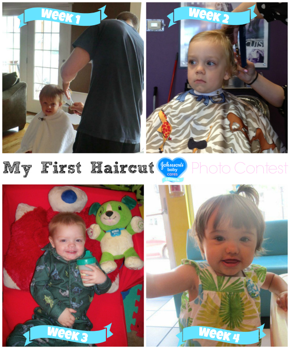 Johnsons Baby My First Haircut Photo Contest Finalists