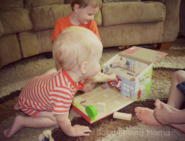 HABA Fire Brigade Play Set