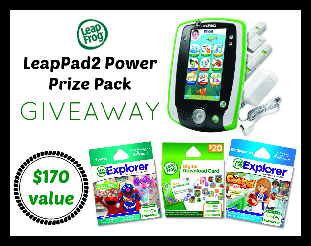 Leap Pad 2 Power Prize Giveaway