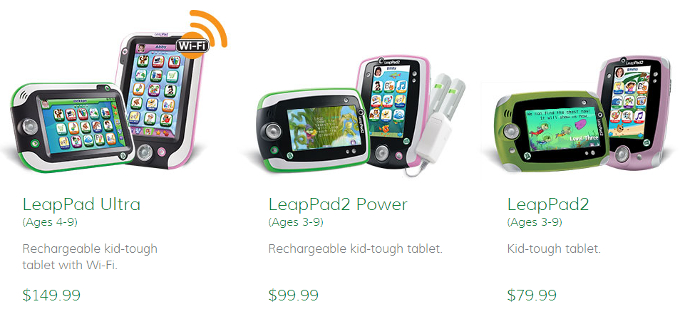 LeapFrog LeapPad Products