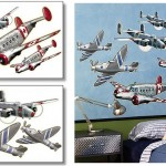 Wall STicker Outlet Airplanes