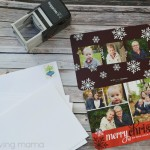 Tiny Prints Photo Christmas Cards Holiday Pearl Shimmer