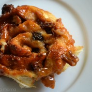 Easy Caramel Nut Raisin Sticky Buns #KraftRecipes