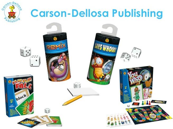 Carson Dellosa Publishing Educational Games