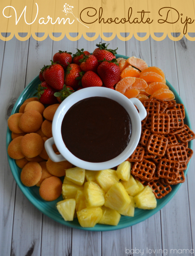 Warm Chocolate Dip