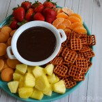 Warm Chocolate Dip from Kraft Easy