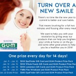GUM Turn Over  New Smiles Facebook Giveaway