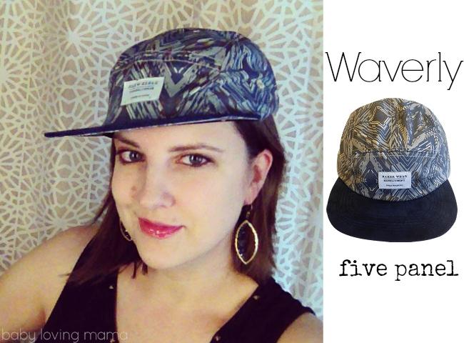 Maker Wear Design Waverly Hat 5 panel
