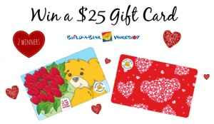 Build a Bear Workshop Valentines Day Giveaway