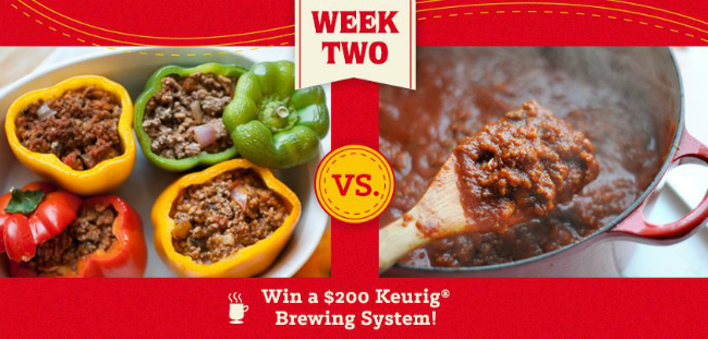 Ragu Bigger and Better Sweepstakes Week 2 Battle