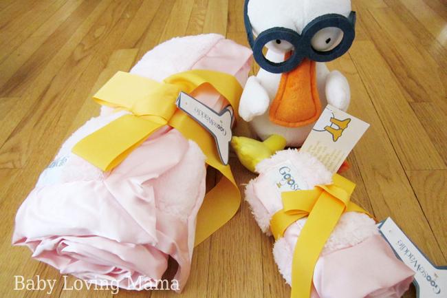 Goose-Waddle Blanket 3 piece gift set