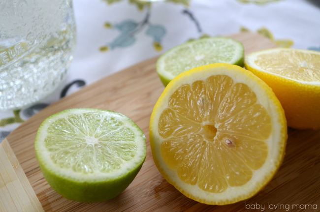 Lemons and Limes Cut for 7UP TEN