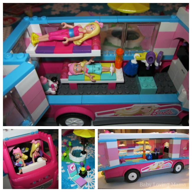 Glamping Barbie Style With Mega Bloks Build N Play Luxe