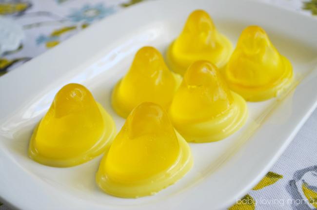 Wilton Peeps Two Toned Yellow Jello Chicks