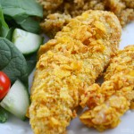 Ranch Chicken Tenders with Corn Flakes