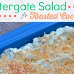 Watergate Salad with Toasted Coconut Featured