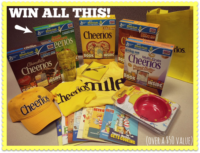 Cheerios Free Book Promo Giveaway