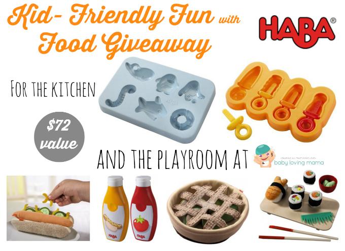 Haba Kid Friendly Fun with Food Giveaway