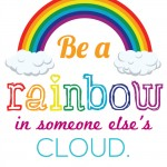 Rainbow Quote Free Printable Image