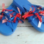 4th of July Flip Flops Tutorial
