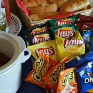Having Fun at Our Frito-Lay and Skylanders Party