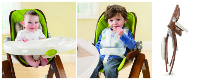 Summer Infant Bentwood High Chair Features
