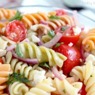 Tomato Pasta Salad with Lemon Dressing Recipe