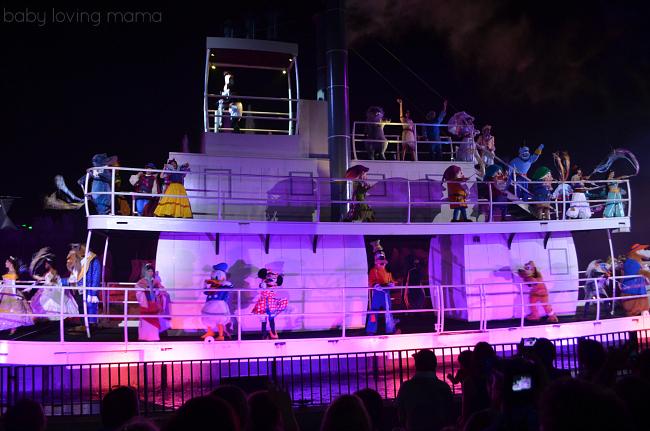 Fantasmic Walt Disney World Hollywood Studios Riverboat Cast