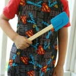 Superhero Boys Apron Tutorial