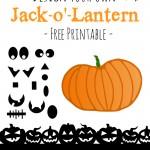 Design Your Own Pumpkin Halloween Free Printable