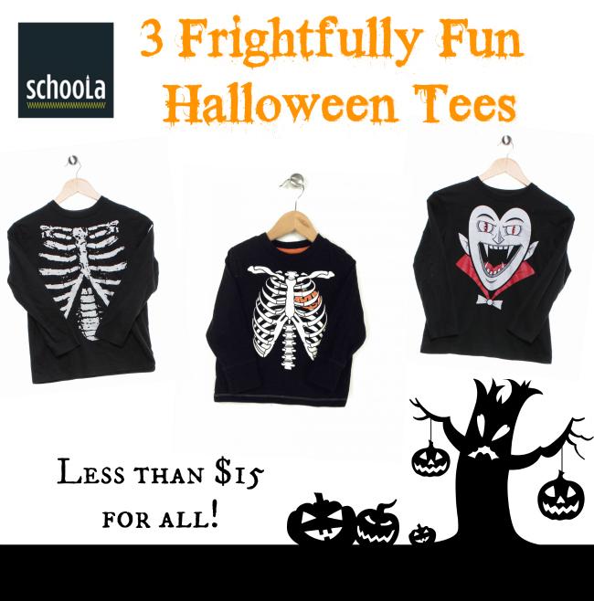 Schoola Halloween Tee Shirt Options