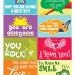 lunchbox notes free printable back to school