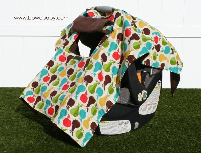 Bowe Baby Busy Baby Car Seat Shade