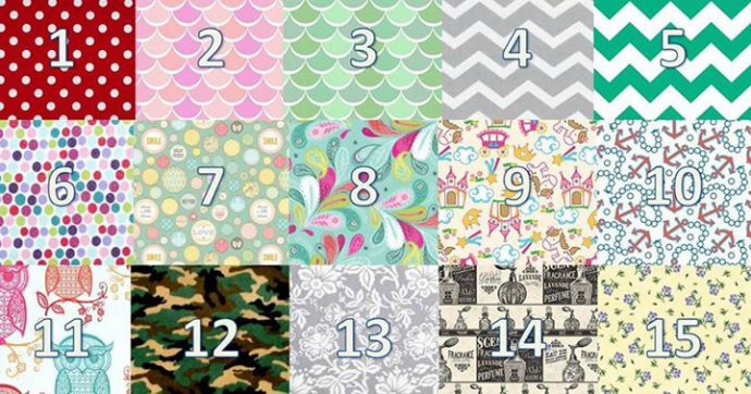 Bowe Baby Fabric Options