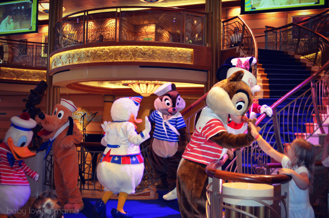 Disney Dream Farewell with Characters