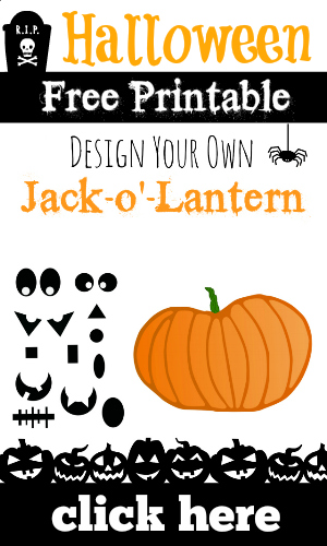 Halloween Pumpkin Free Printable