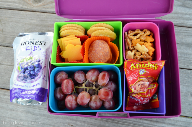 Honest Kids Rock the Lunchbox Bento
