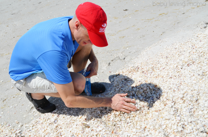 Shelling in Sanibel at Casa Ybel