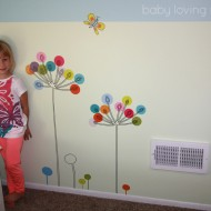 Buttercup Mia & Co Wall Decals from RoomMates | Peel – Stick – Done