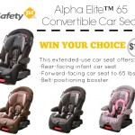 safety 1st alpha elite 65 convertible car seat giveaway