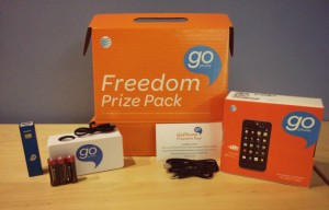 AT&T_GoPhone Freedom Kit_Giveaway Prize