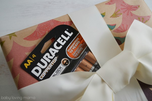 Duracell Batteries for Holiday Gifts
