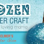 Frozen Flubber Craft Tutorial with Elmer's Classic Glitter Glue
