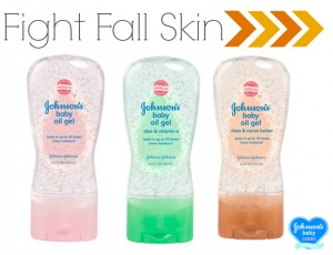 fight dry skin with Johnson's Baby Oil Gel