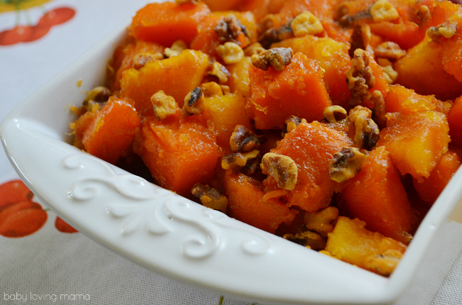 Glazed Sweet Potatoes for Thanksgiving